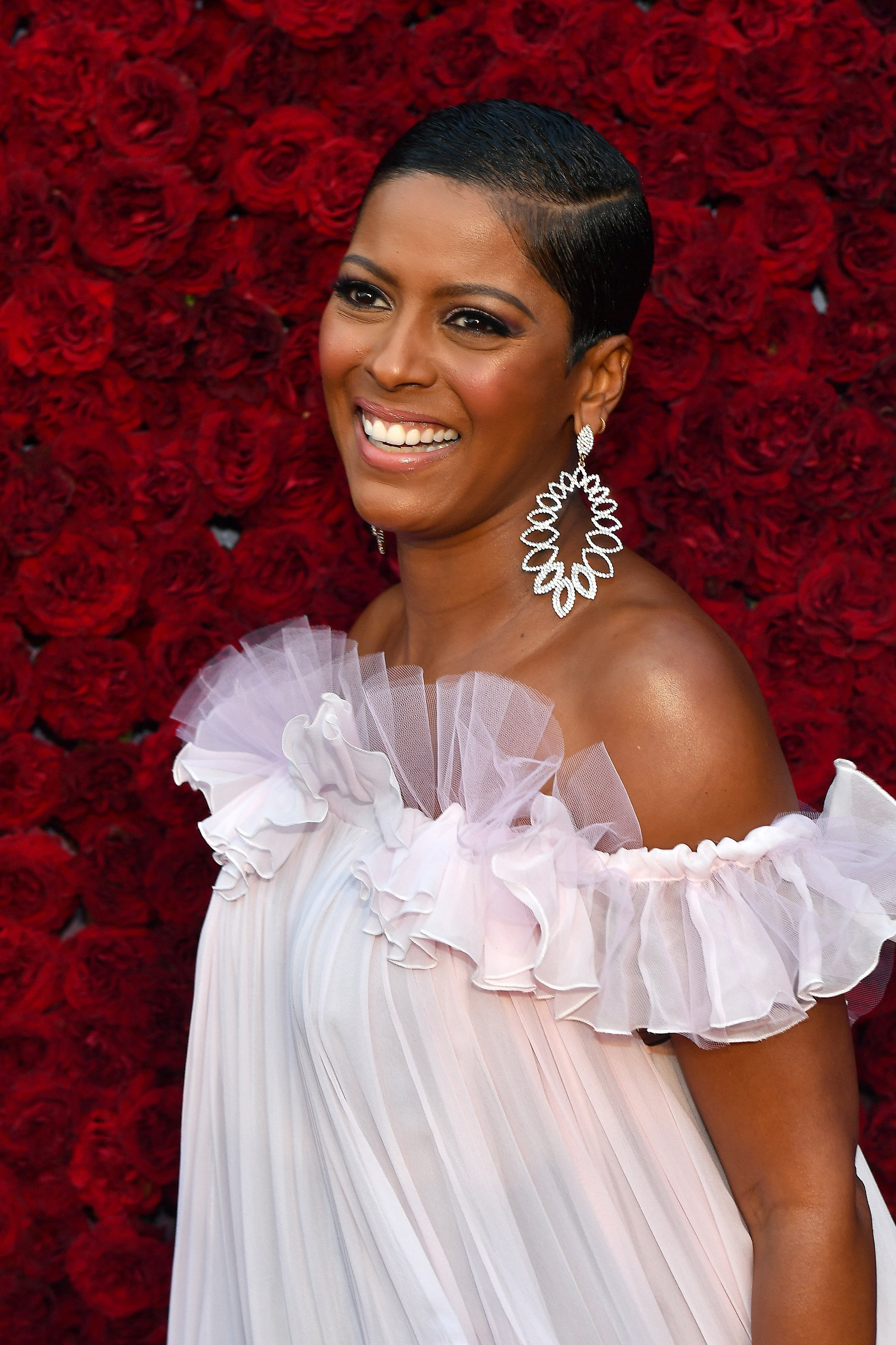 Tamron Hall attends the Grand Opening Gala of Tyler Perry Studios in Atlanta | Source: Getty Images/GlobalImagesUkraine