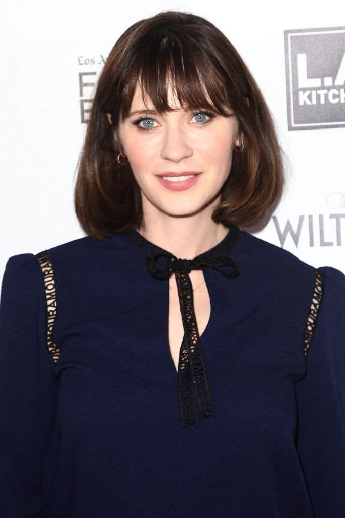 Zooey Deschanel at the Los Angeles Times Food Bowl: Power of Food on May 1, 2018 in Los Angeles, California.   Photo: Getty Images