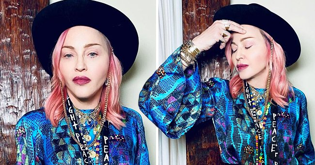 Check Out Madonna's Gorgeous Pink Hair in a Latest Instagram Upload