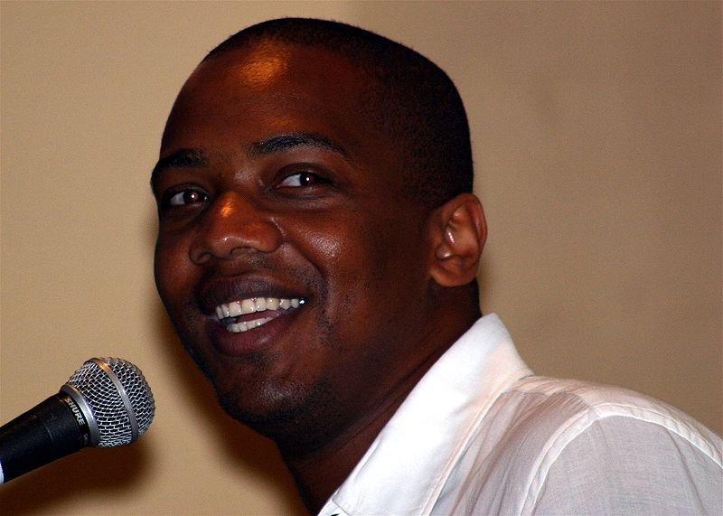 J. August Richards at the 2004 Tampa SlayerCon. | Source: Wikimedia Commons