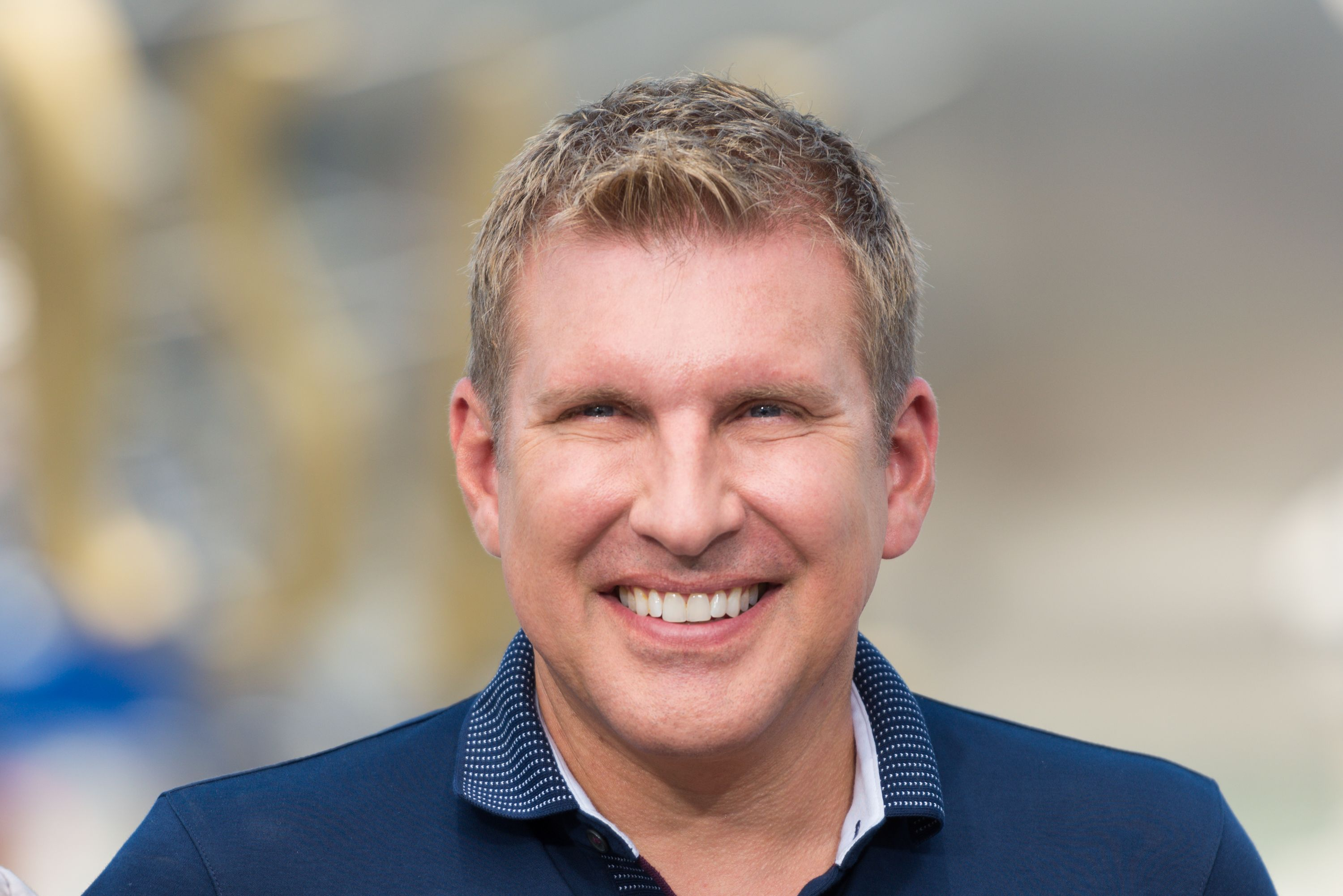 """Todd Chrisley visits """"Extra"""" at Universal Studios Hollywood on July 18, 2017 