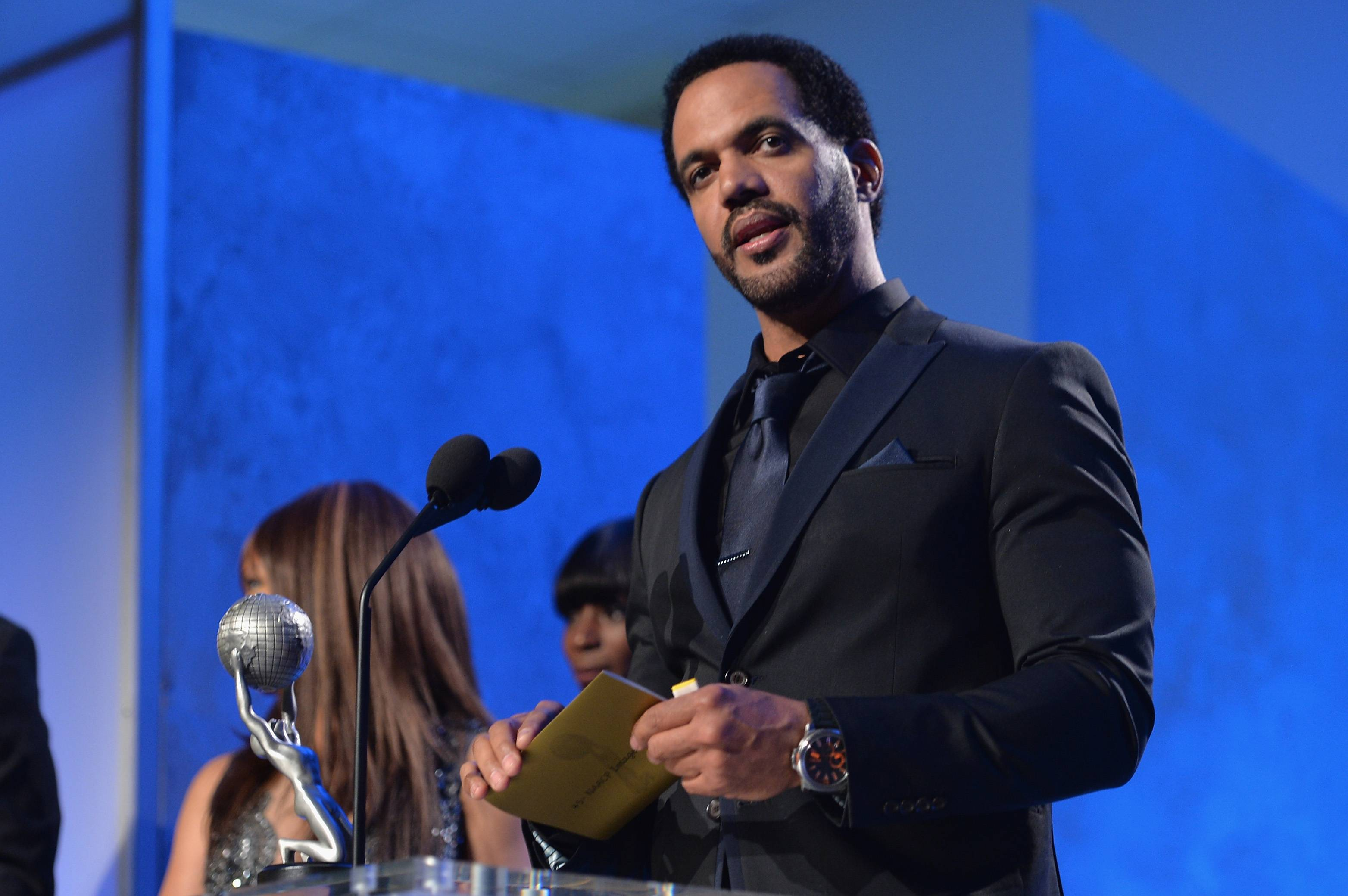 Actor Kristoff St. John attends the 45th NAACP Awards | Photo: Getty Images