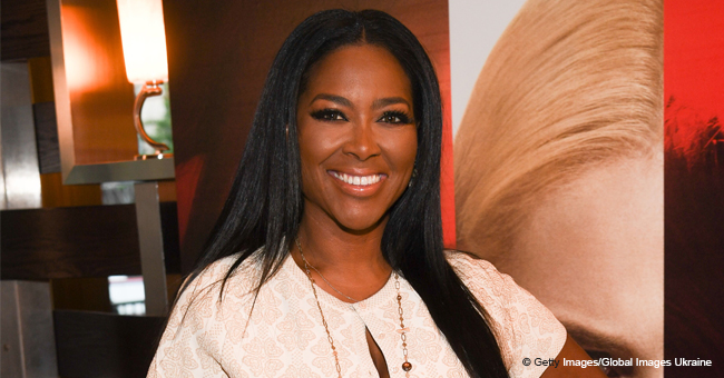 Kenya Moore's Daughter Melts Hearts with Her Smile, Posing in Red Dress on Her 5-Month B-Day
