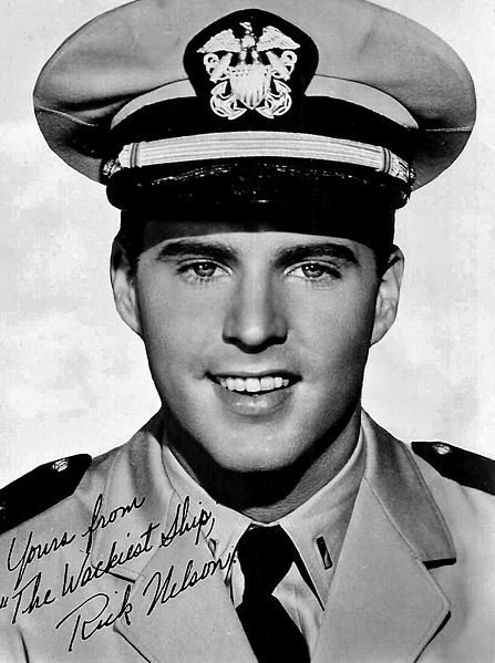 A young Ricky Nelson. Source: Wikimedia Commons