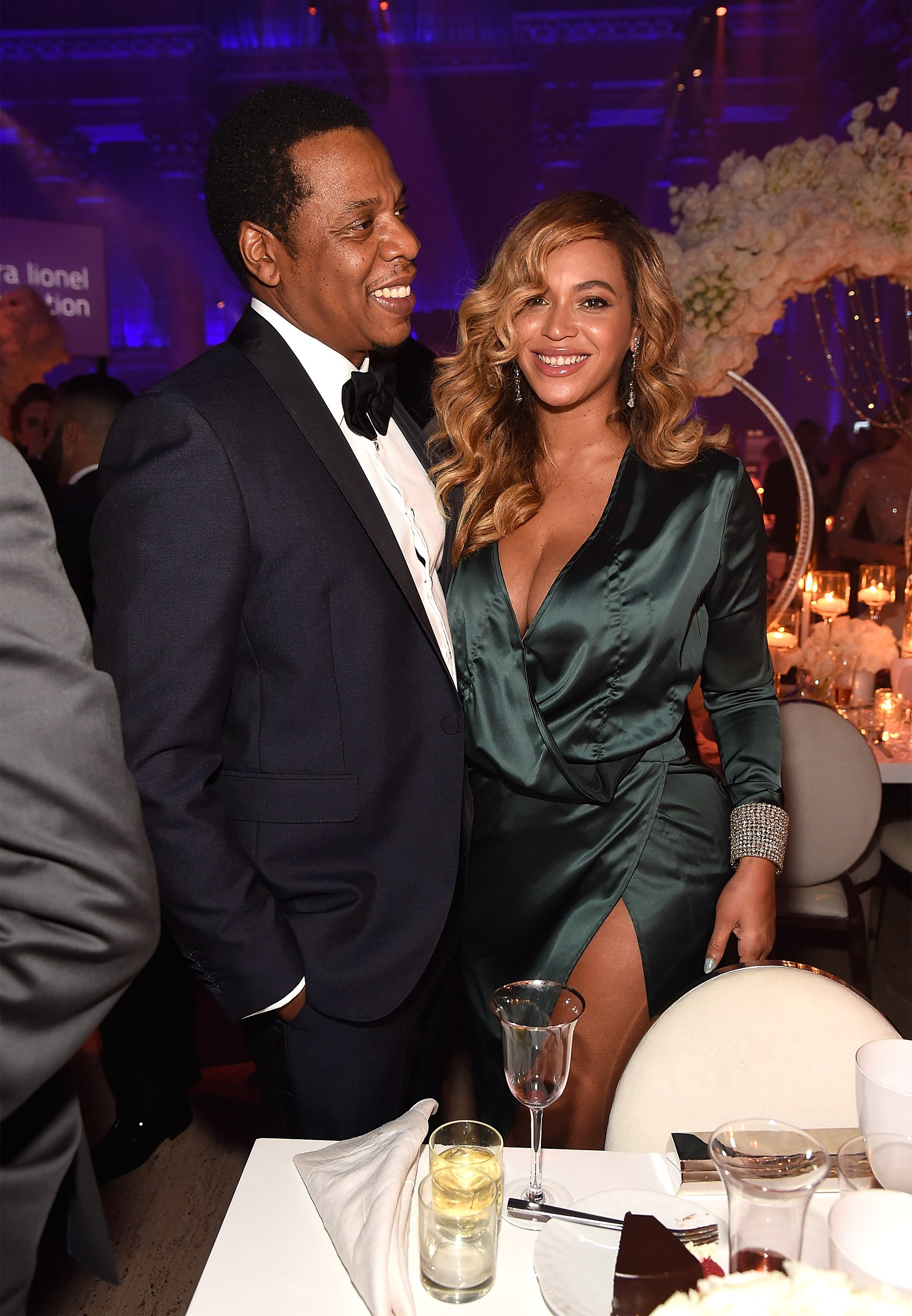 Jay-Z and Beyonce attend Rihanna's 3rd Annual Diamond Ball. | Photo: GettyImages
