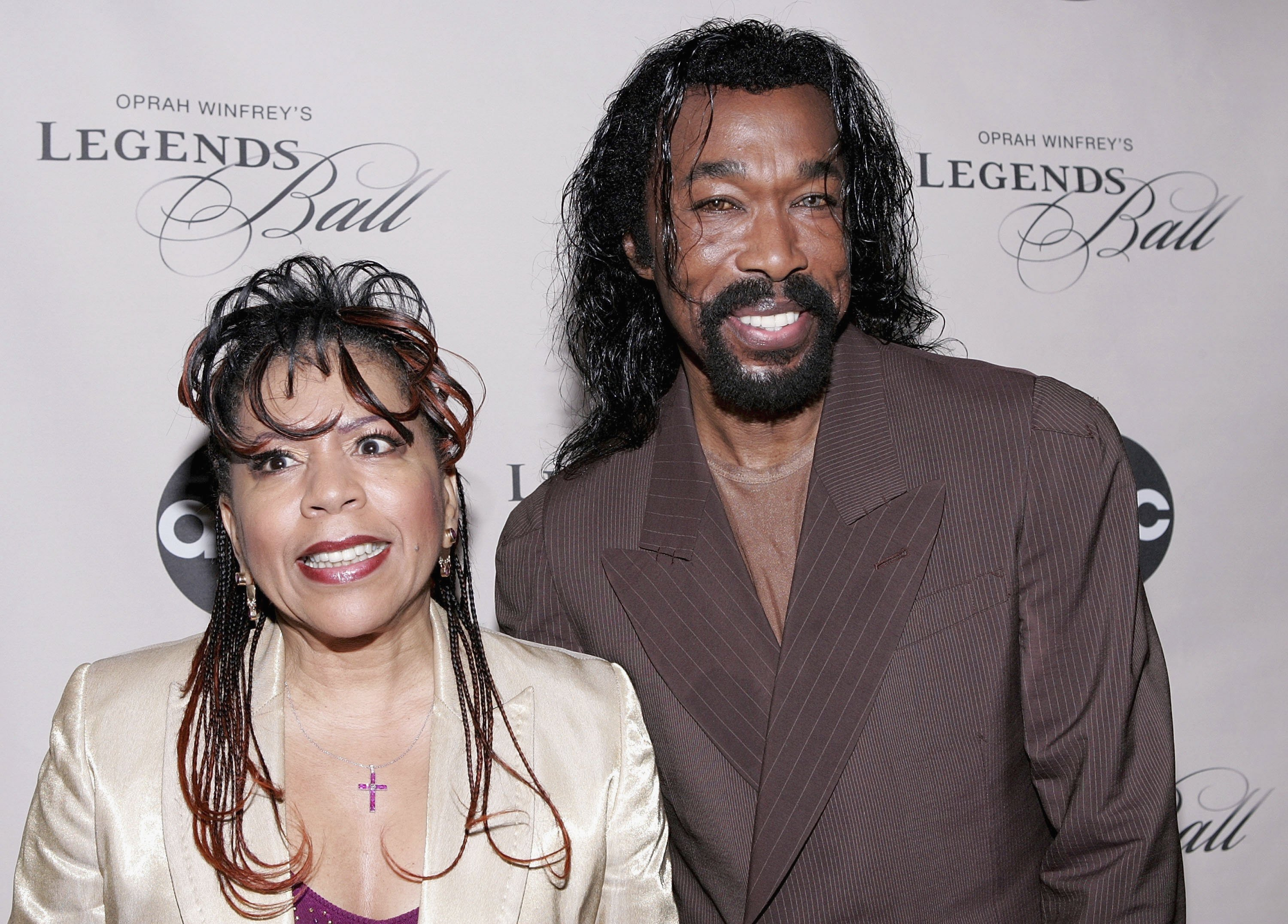 """Valerie Simpson and Nick Ashford attend the screening of """"Oprah Winfrey's Legends Ball"""" at JP Morgan Library May 11, 2006.   Photo: GettyImages"""