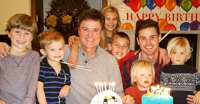 Donny Osmond Celebrates Birthday with His Son Chris & Grandkids — Fans Gush over His Family