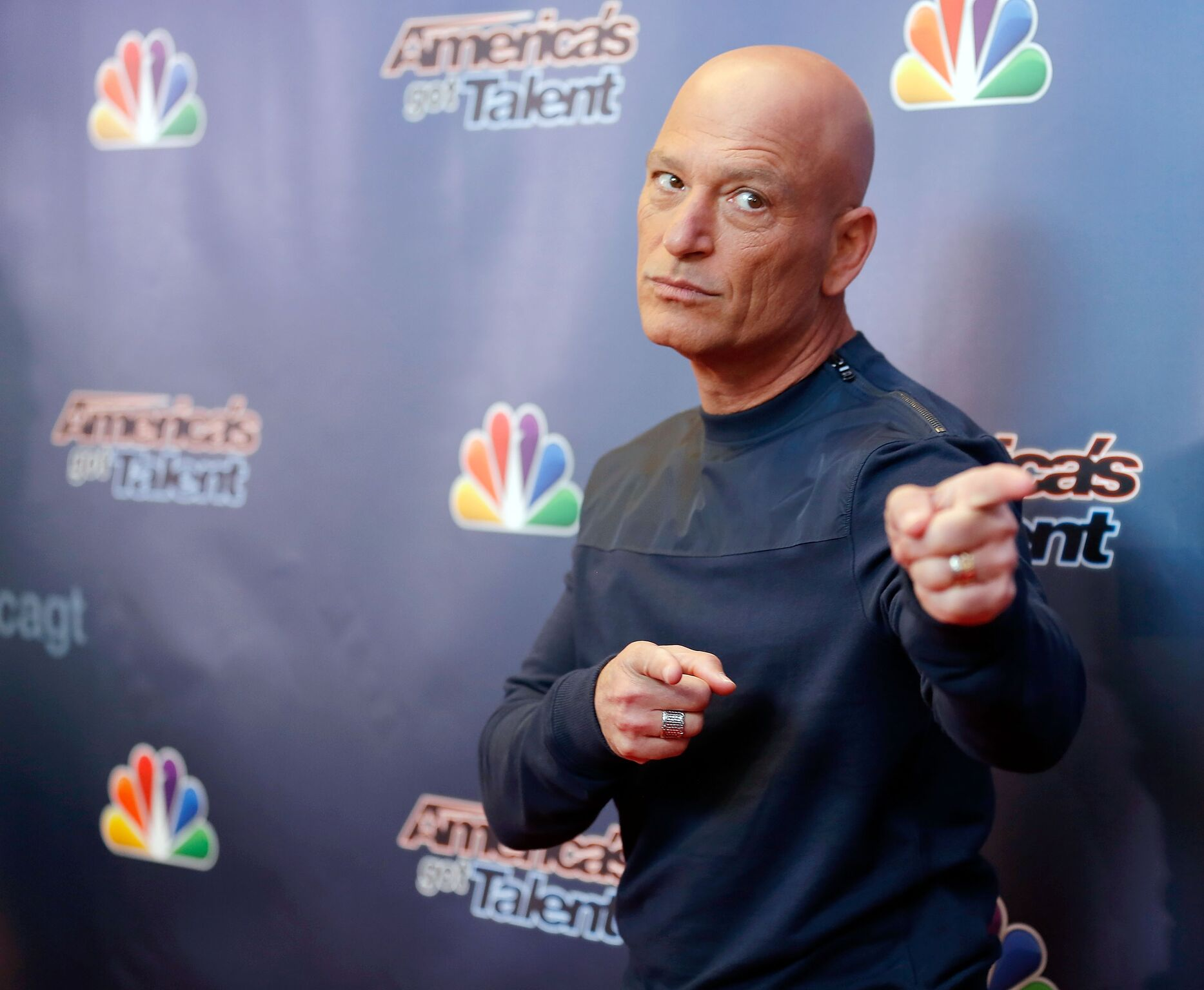 "Howie Mandel attends the ""America's Got Talent"" red carpet event at Madison Square Garden  