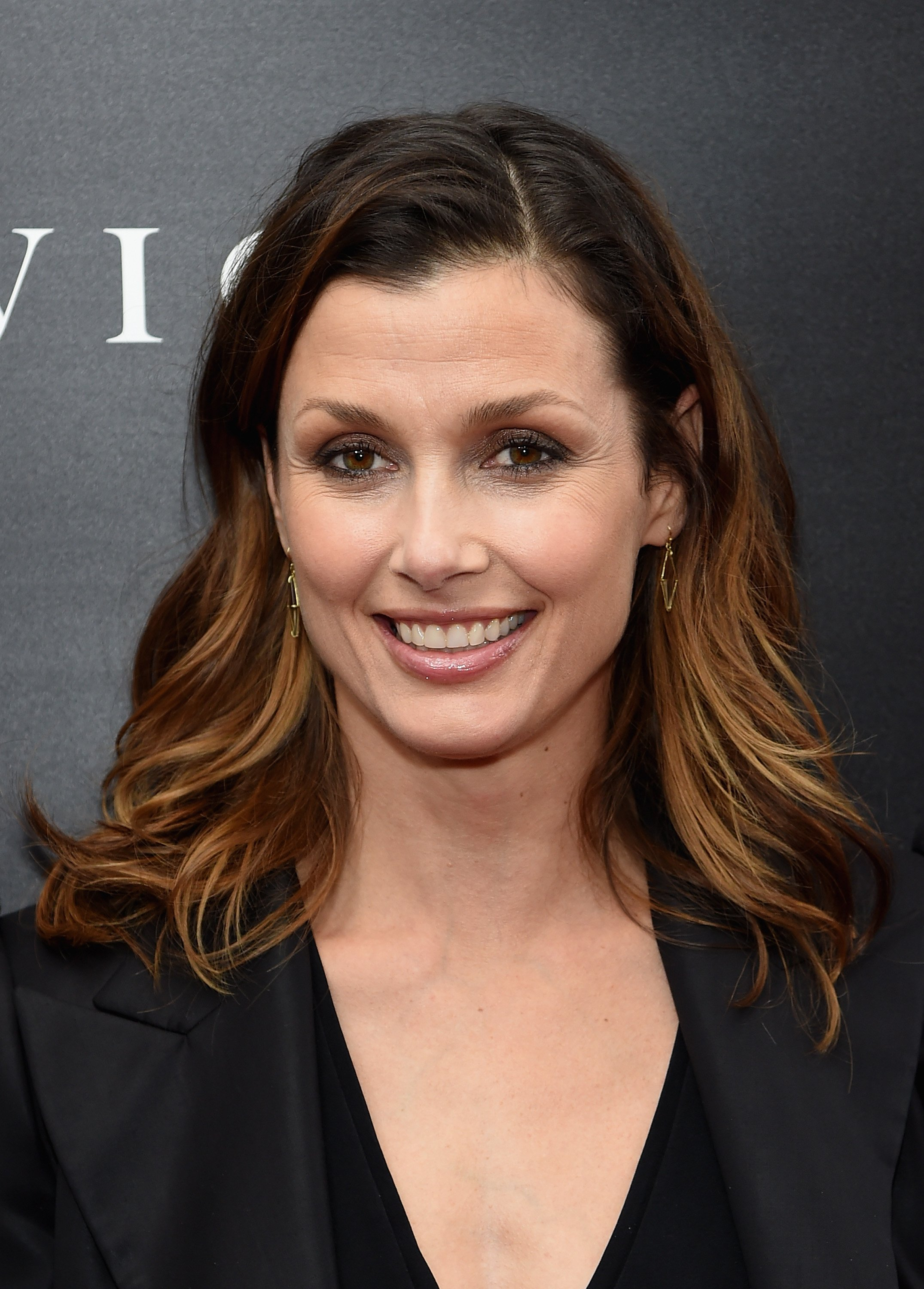 """Bridget Moynahan attends the premiere of """"John Wick"""" in New York City on October 13, 2014 