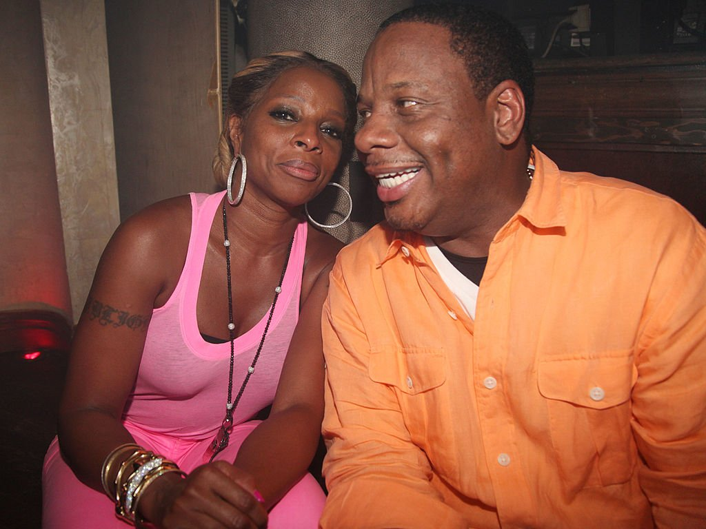"""Mary J. Blige and Kendu Isaacs attend Starshell's """"Birthday Girl"""" video release party on June 26, 2012 