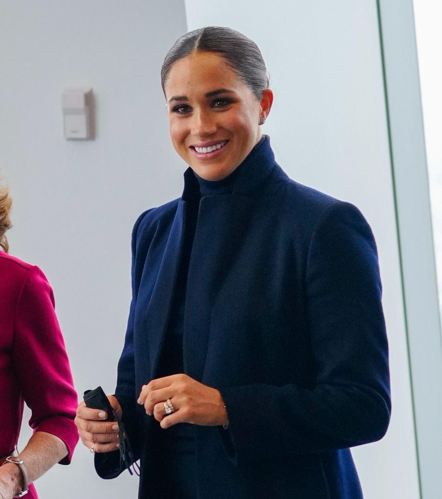 Meghan Markle visits 1 World Trade Center on September 23, 2021, in New York   Photo: Getty Images