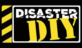 """The logo of """"Disaster DIY"""" 