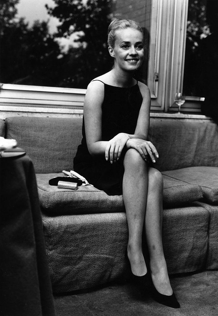 L'incontournable actrice Jeanne Moreau. l Source : Getty Images