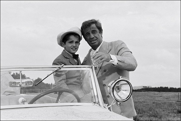 Jean-Paul Belmondo et Rachid Ferrache. | Photo : Getty Images
