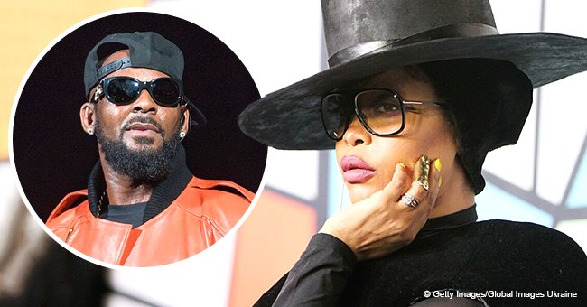 'I want healing for you,' Erykah Badu fires back at critics who said she's defending R. Kelly