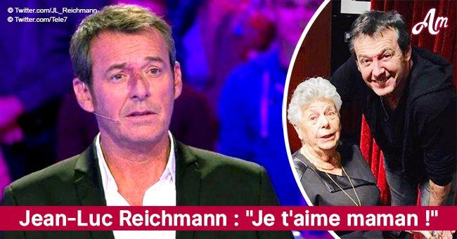 """""""Je t'aime maman"""" : ému, Jean-Luc Reichmann partage sa photo émouvante avec sa mère"""