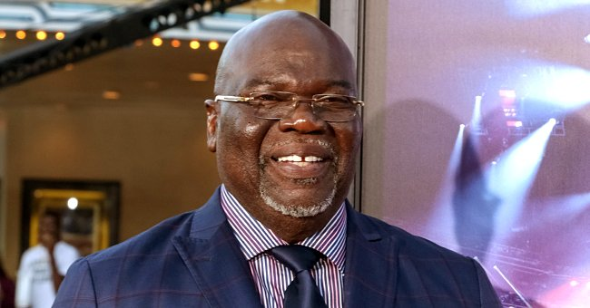 Bishop TD Jakes Gushes over His Two Daughters as They Pose in Fabulous Matching Blue Outfits