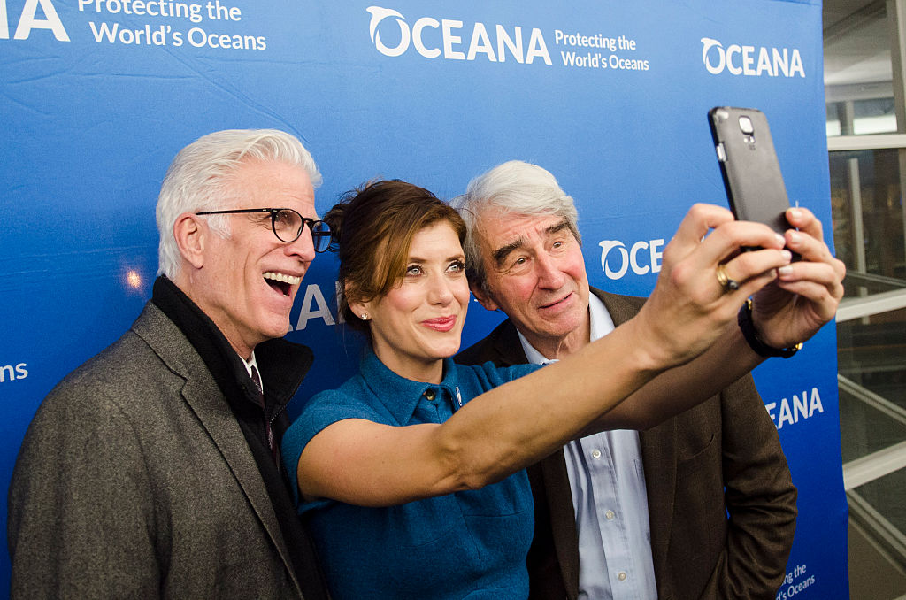 Ted Danson, Kate Danson, Sam Waterston. Image Credit: Getty Images