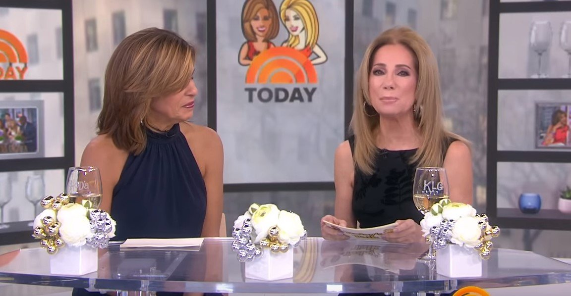 """Hoda Kotb and Kathie Lee Gifford on """"Today Show"""" 