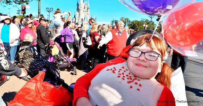 11-year-old sick girl's wish came true during the first family holiday of her life