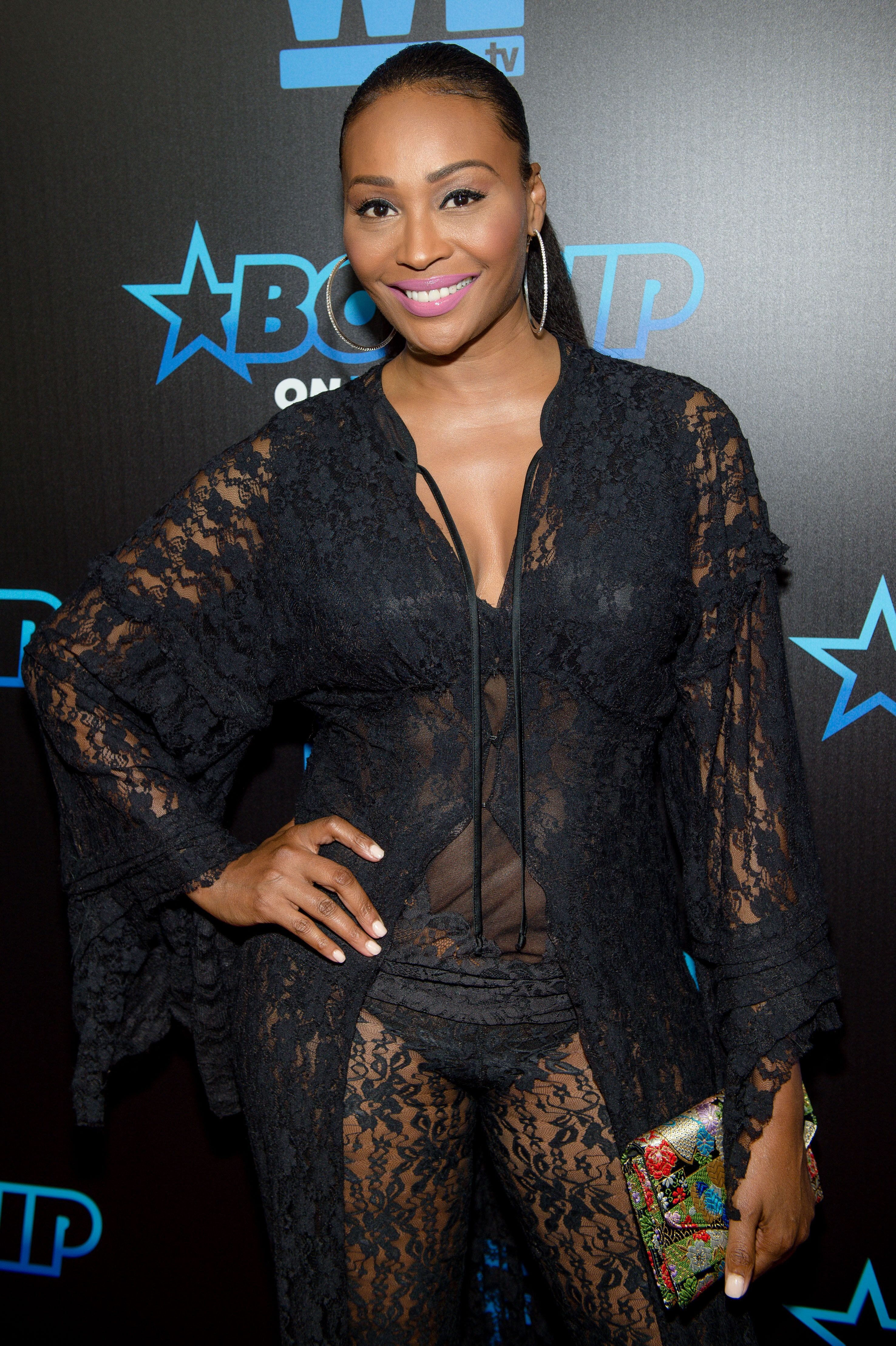 RHOA reality star Cynthia Bailey at a Bossip event/ Source: Getty Images