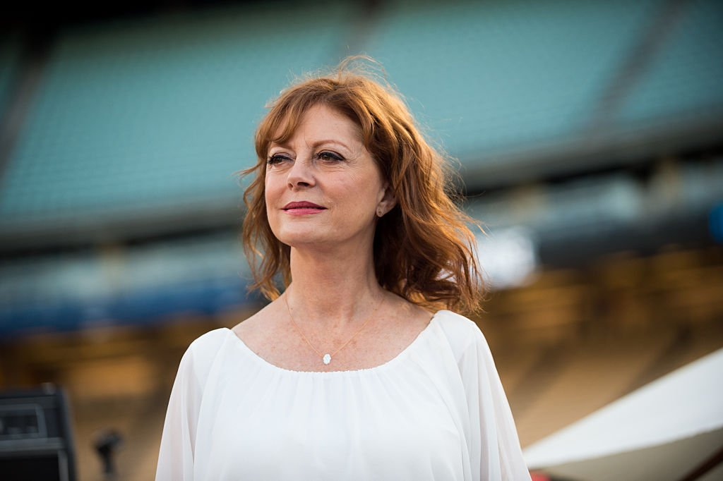 Susan Sarandon attends Clayton Kershaw's 4th annual 'Ping Pong 4 Purpose Celebrity Tournament' at Dodger Stadium on August 11, 2016 in Los Angeles, California | Photo: Getty Images