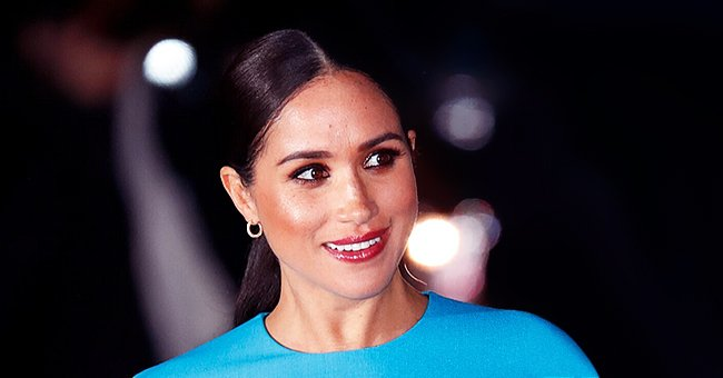 Meghan Markle Fans Praise Turquoise Dress Choice for First Post-Megxit Appearance in London