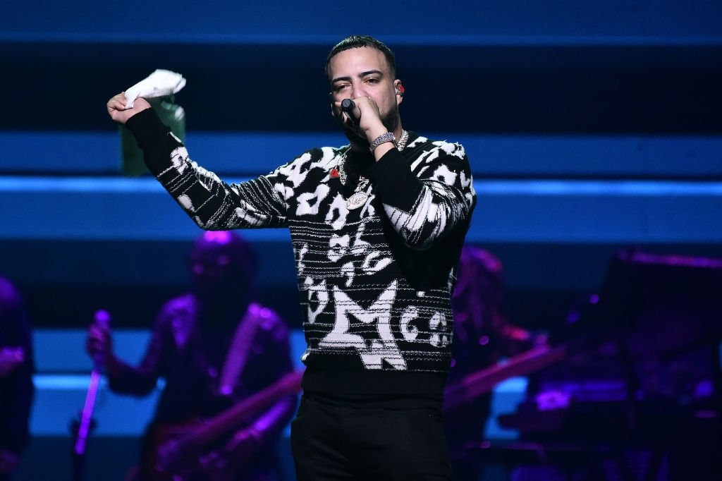 French Montana performs onstage during the 5th Annual TIDAL X Benefit Concert at The Barclays Center in New York City on October 21, 2019. | Photo: Getty Images