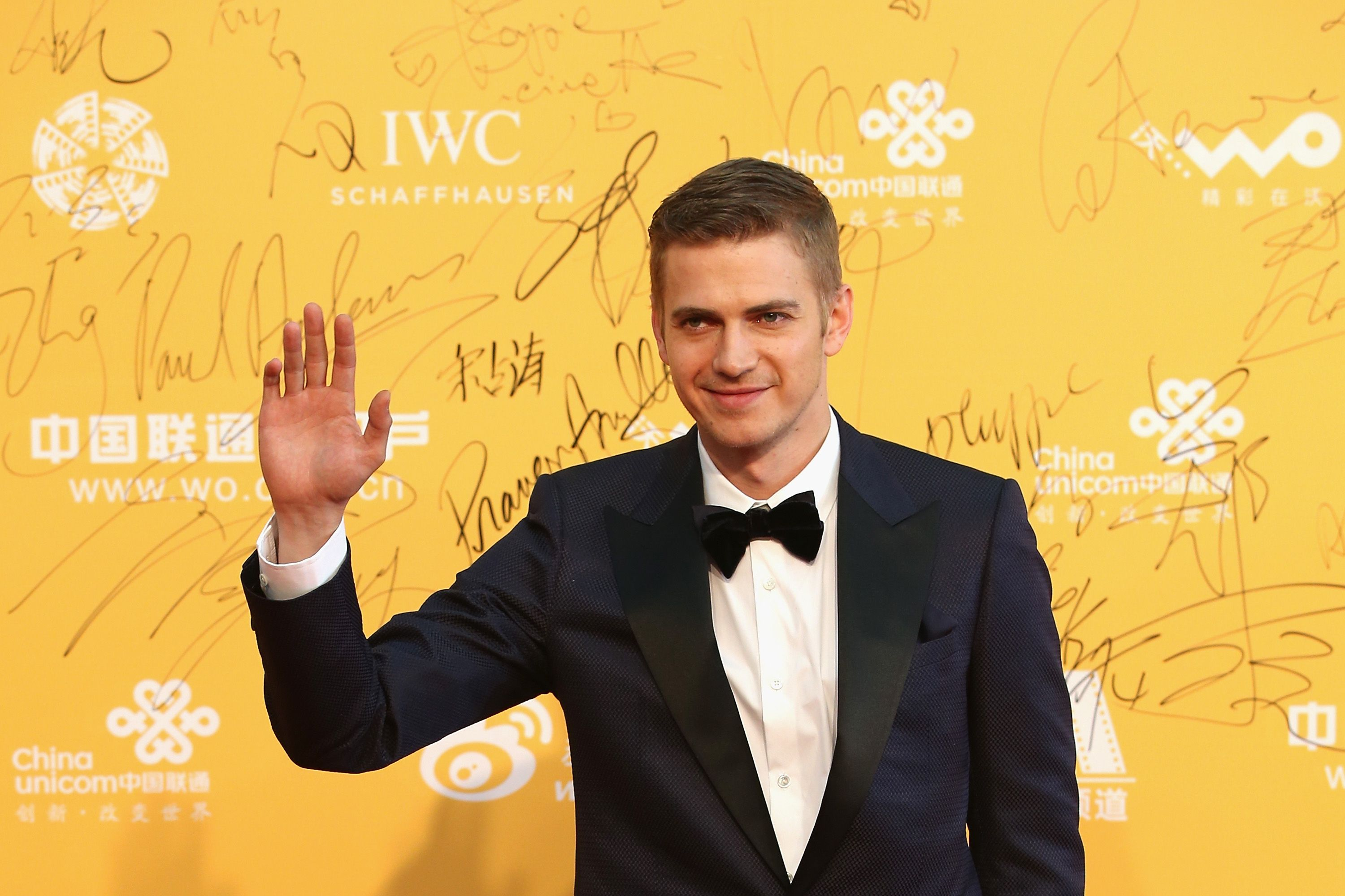 Hayden Christensen at the red carpet of the 4th Beijing International Film Festival in 2014 in Beijing, China | Source: Getty Images