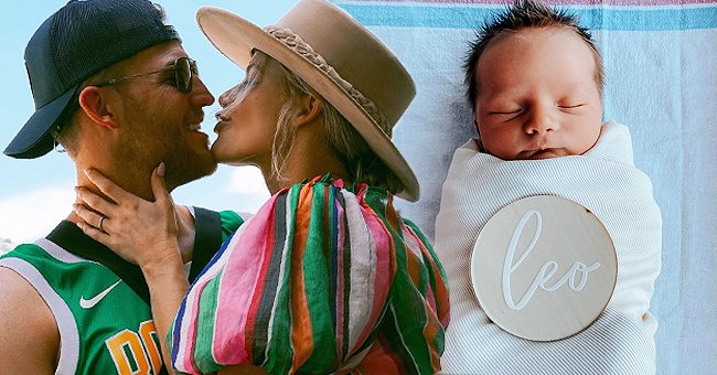 DWTS Pro Witney Carson Shares First Close-up Photo of Her Newborn Son as She Reveals His Name