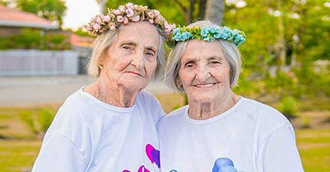 Les jumelles Marie Lemarie et Genevieve Bouligand ont fêté leur 100 ans