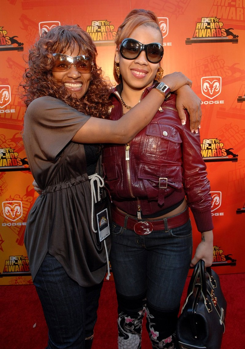 Frankie Lons and Keyshia Cole at the 2006 BET Hip-Hop Awards in November 2006   Photo: Getty Images