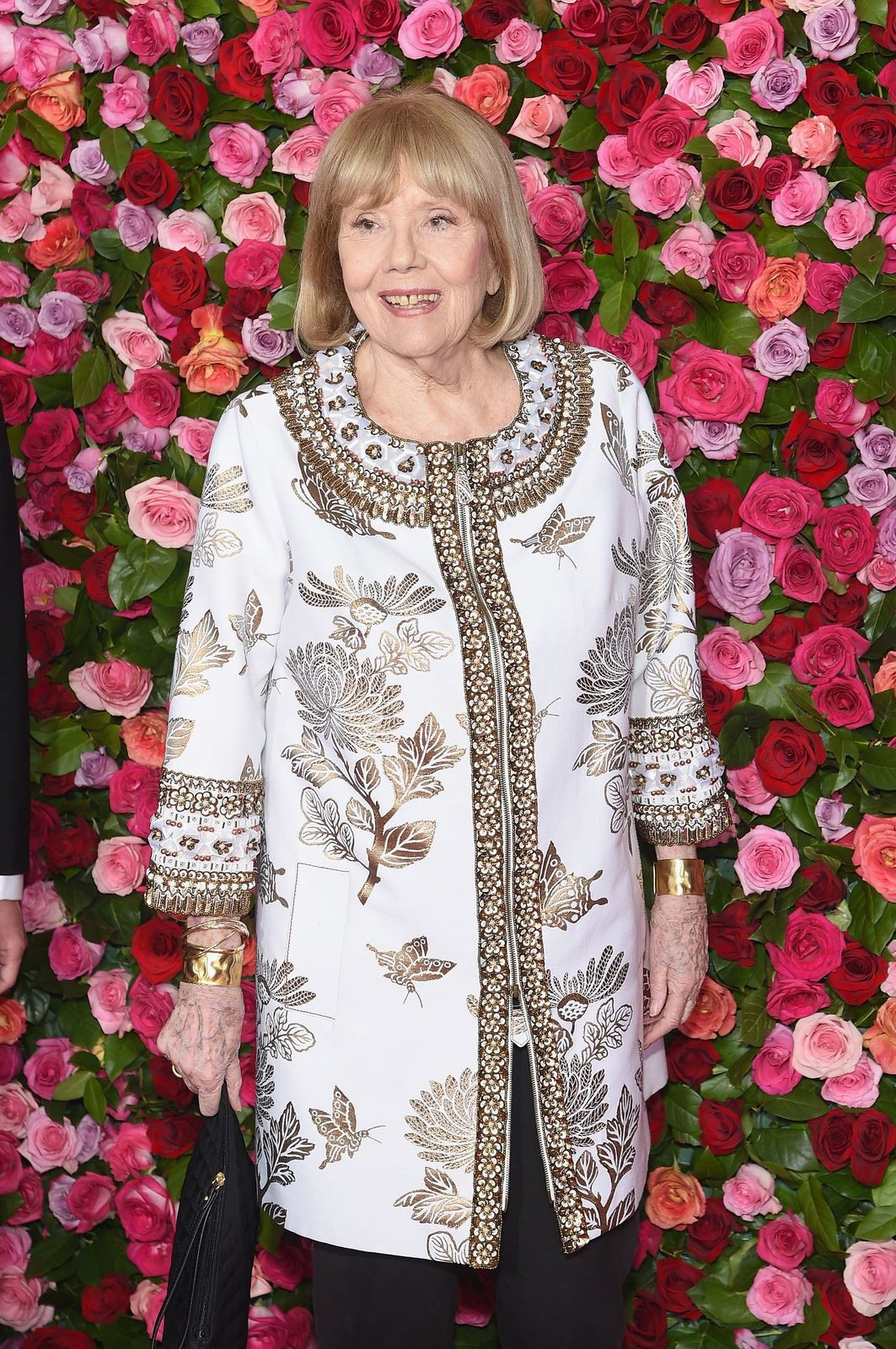 Diana Rigg au Radio City Music Hall le 10 juin 2018 à New York. | Photo : Getty Images