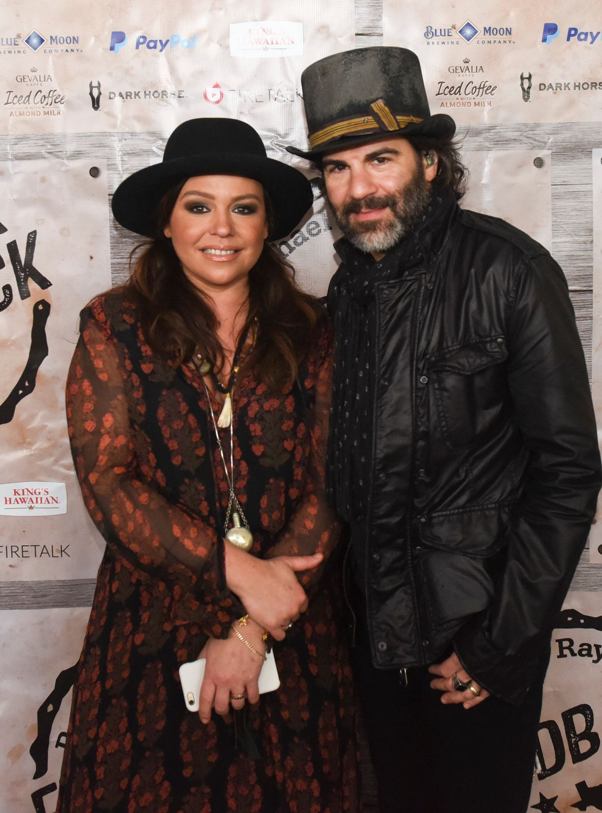 Rachael Ray and John Cusimano at the Gevalia Iced Coffee with Almond Milk at Rachael Ray's Feedback House on March 21, 2015, in Austin, Texas | Photo: Vivien Killilea/Getty Images