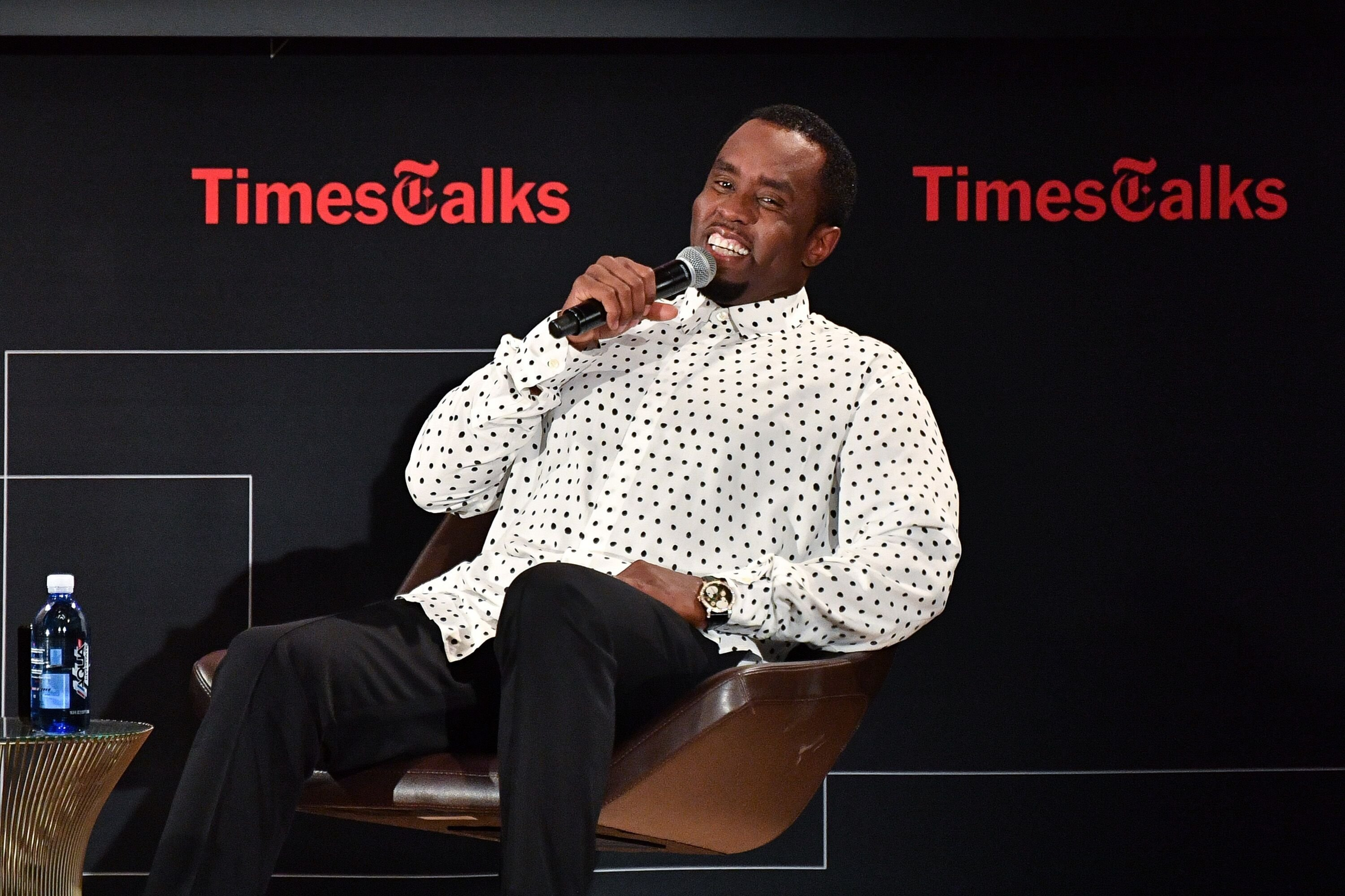 Diddy on Times Talks | Source: Getty Images/GlobalImagesUkraine