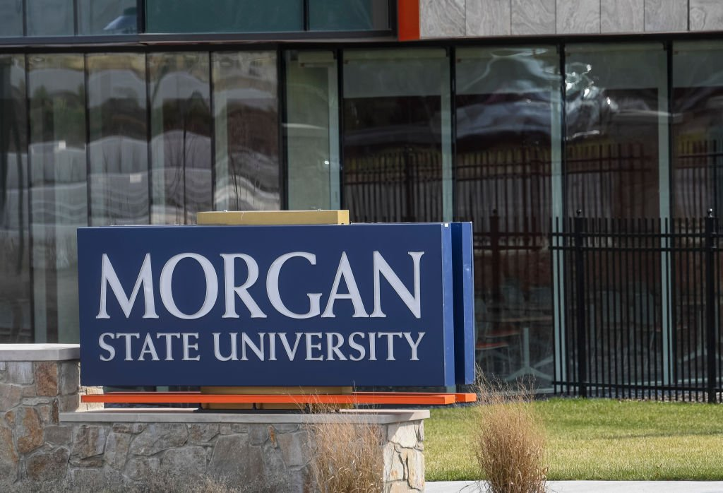 A photo of Morgan State University's building on December 30, 2020   Photo: Getty Images