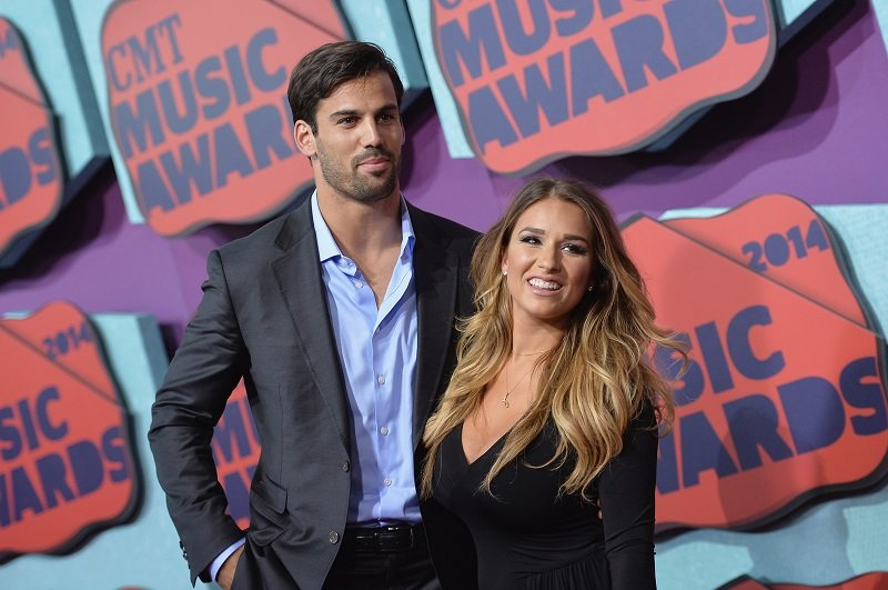 Eric Decker and Jessie James Decker on June 4, 2014 in Nashville, Tennessee | Photo: Getty Images