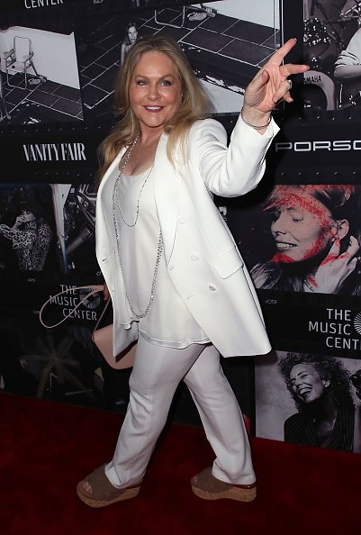 Beverly D'Angelo at the Dorothy Chandler Pavilion on November 7, 2018 in Los Angeles, California. | Photo: Getty Images