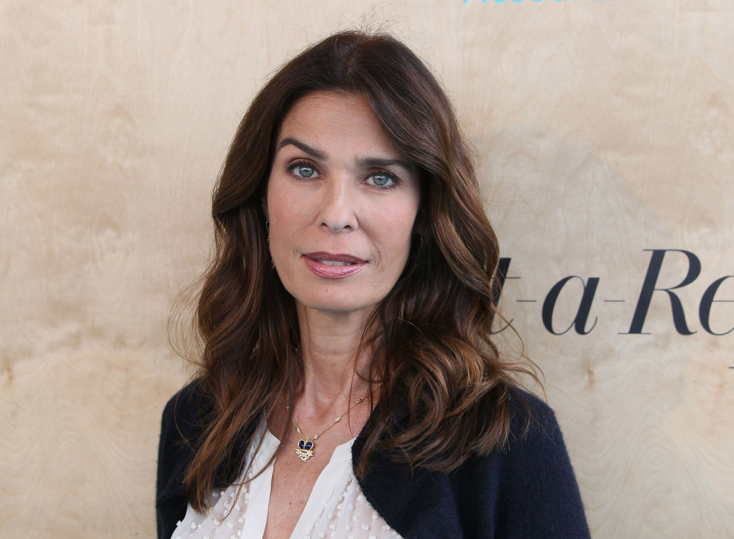 Kristian Alfonso at the Ovarian Cancer Research Fund Alliance's 3rd Annual Super Saturday Los Angeles at Barker Hangar on June 11, 2016 in Santa Monica, California