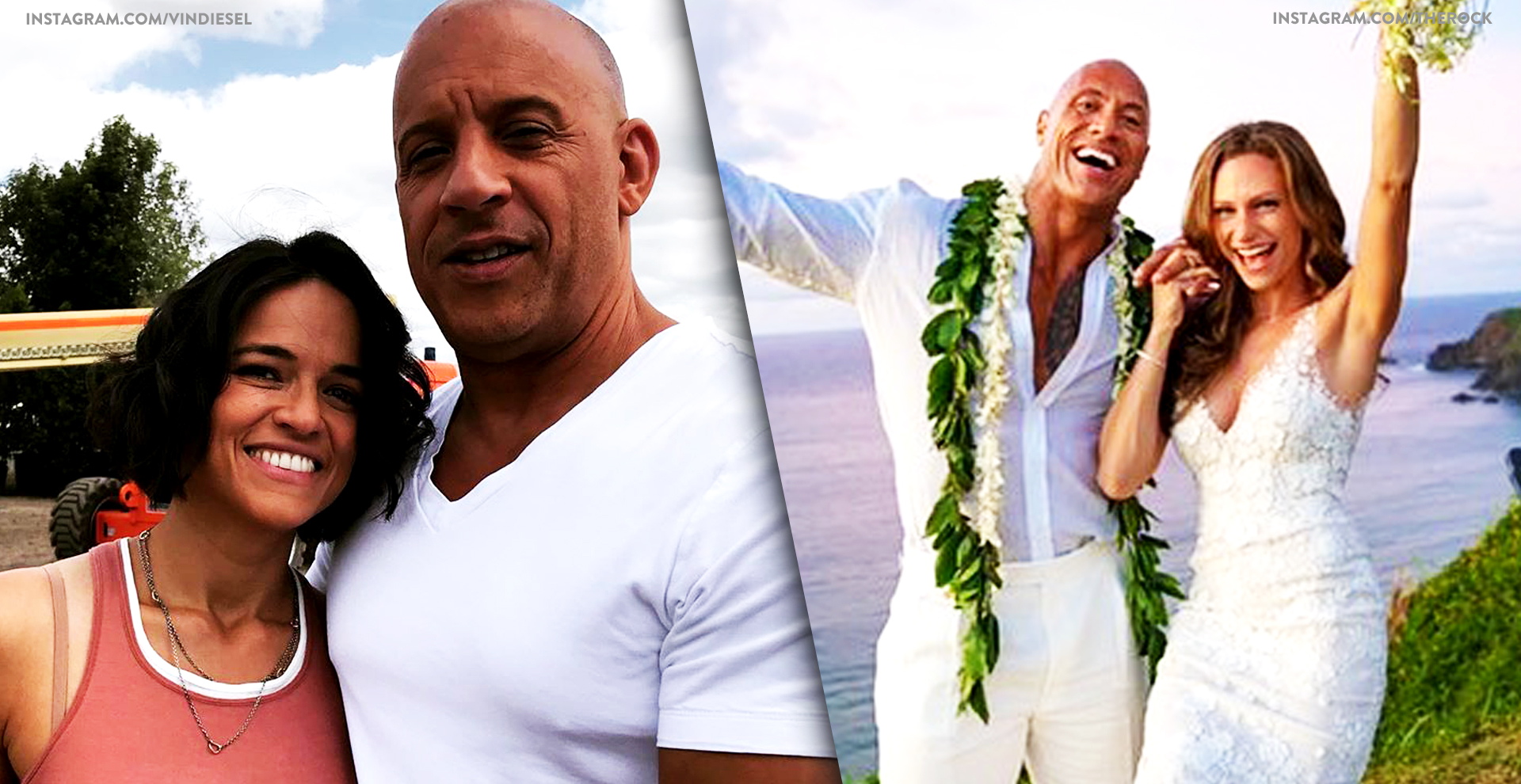 Fast & Furious Cast's Real-Life Partners