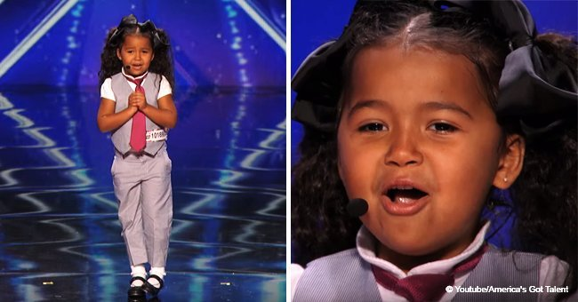5-year-old girl stunned the audience with adorable 'Frozen' performance in viral video