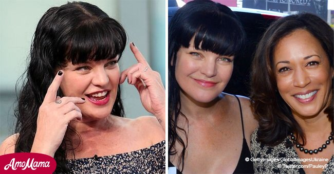 'NCIS' Pauley Perrette 'begs' Kamala Harris to run for president, and fans reactions are mixed