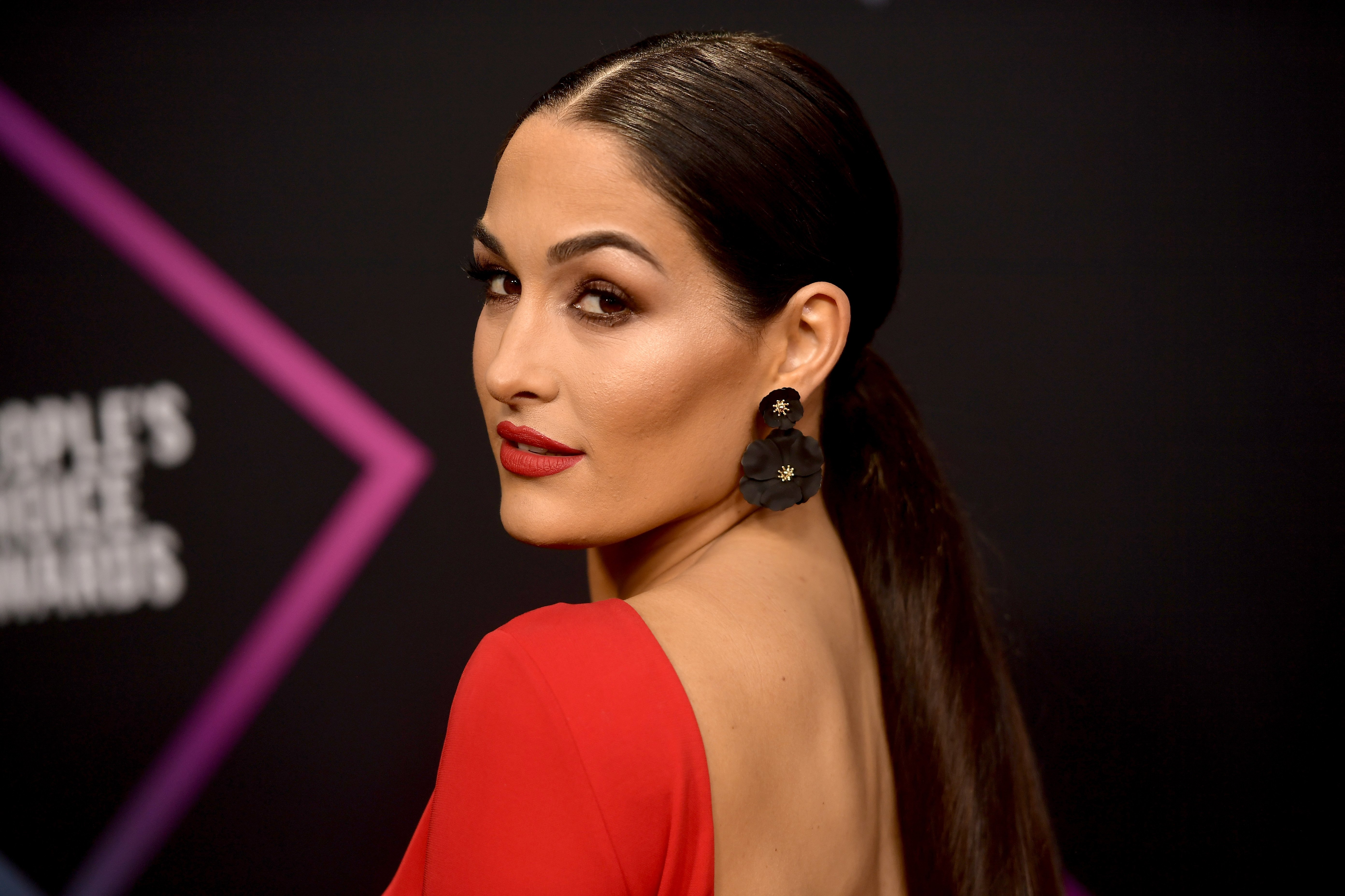 Nikki Bella attends the People's Choice Awards on November 11, 2018 in Santa Monica, California | Photo: Getty Images