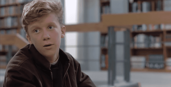 "Anthony Michael Hall as Brian Johnson in ""The Breakfast Club"" 