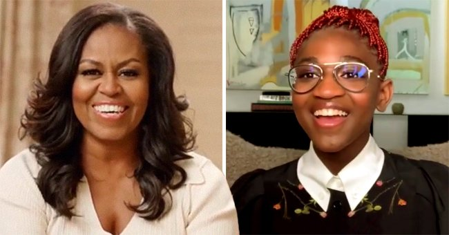 Michelle Obama Praises Zaya Wade for Being a Role Model during a Touching Interview