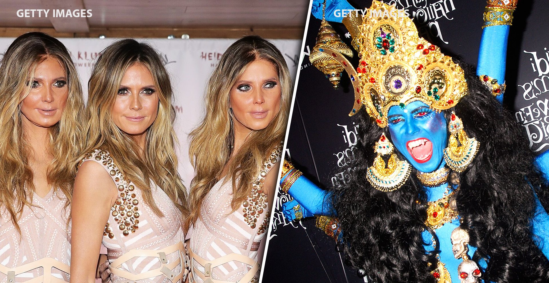 Top 13 Heidi Klum's Halloween Costumes