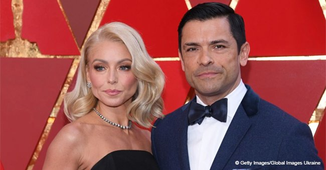 Kelly Ripa shares a romantic photo taken in bed with her handsome husband
