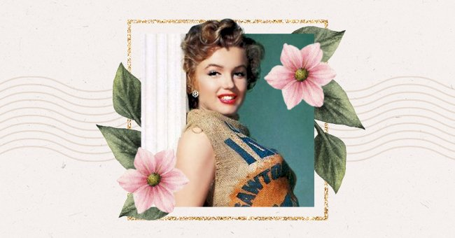 Hollywood History: 70 Years Ago Marilyn Monroe Posed In A Potato Sack