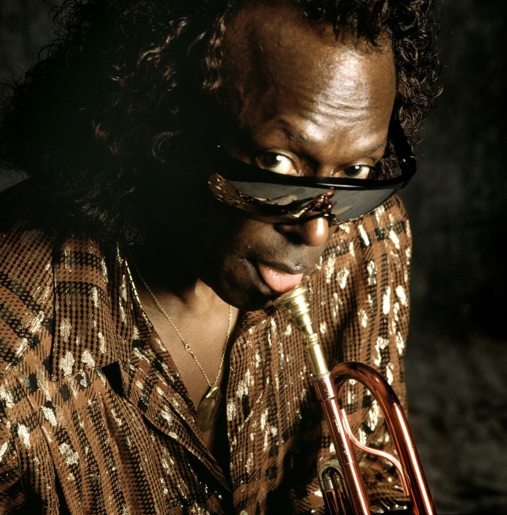 Jazz musician Miles Davis in action | Photo: Getty Images