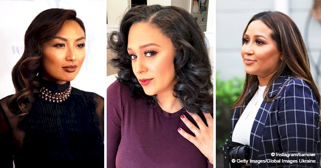 'The Real's Jeannie Mai & Adrienne Houghton allegedly at war with Tamera Mowry over her higher pay